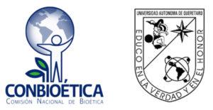 logos de CONBIOÉTICA y UAQ