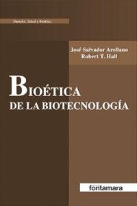 portada bioetica de la biotecnologia