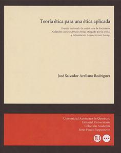 portada teoria etica para una etica aplicada